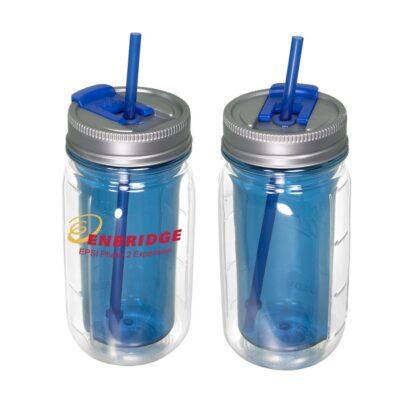 16 Oz. Cool Gear® Mason Jar Water Bottle