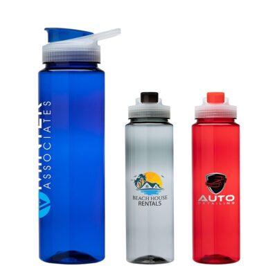Lassen 1L/34oz. PET Water Bottle
